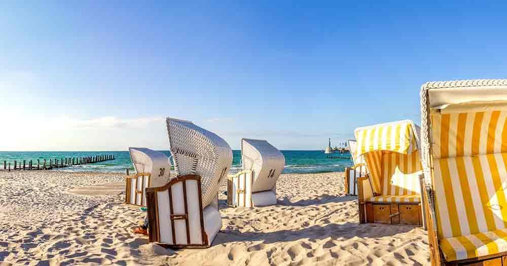 Baltic Sea - Beach chairs