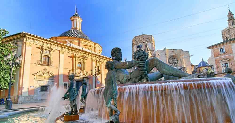 Valencia - Saint Mary's Square
