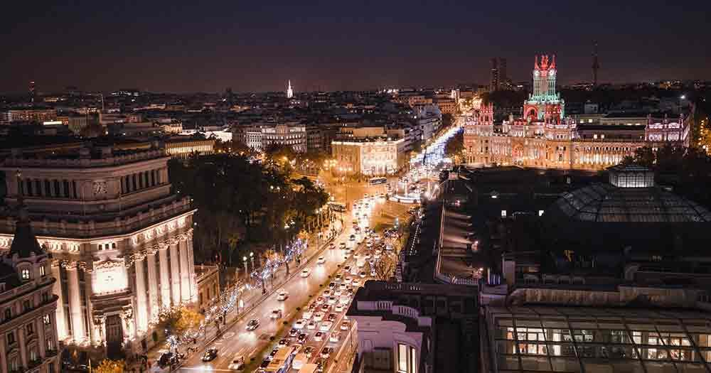 Madrid - At night