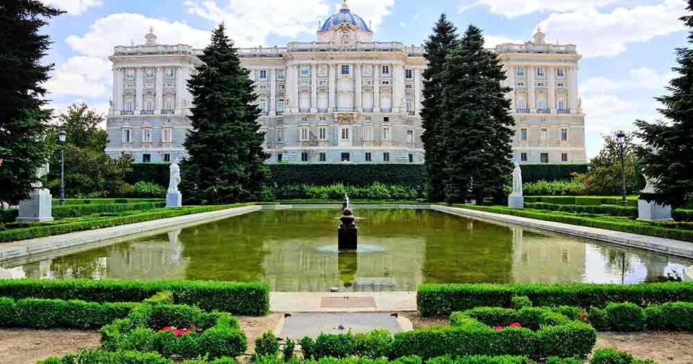 Madrid - Sabatini Gardens