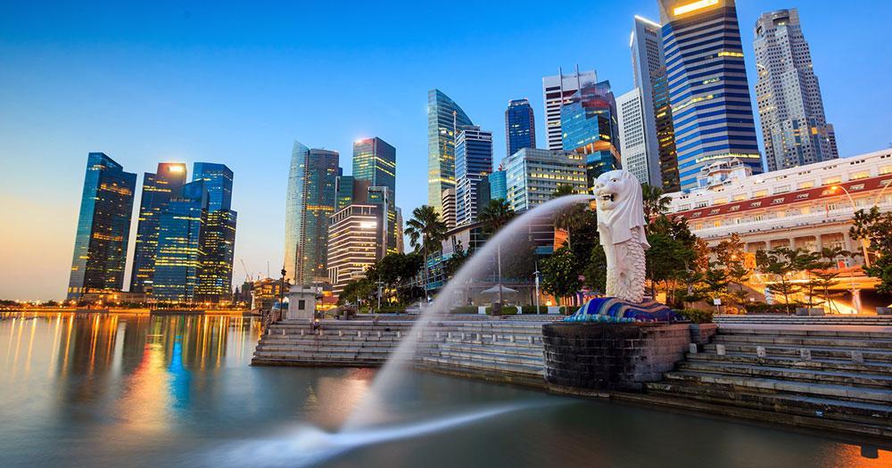 Singapore - Merlion Fountain
