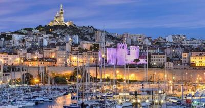 Côte d'Azur -  Marseille - Le Vieux Port