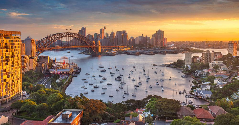 Sydney - The bay of Sydney