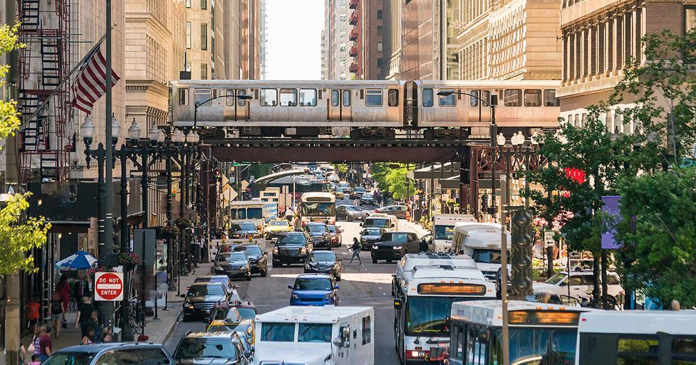 Chicago Hochbahn
