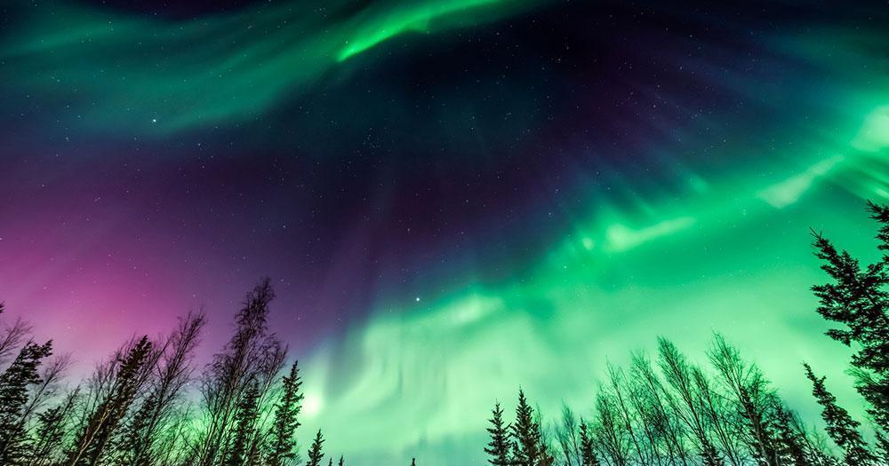 Alaska - The magnificent northern lights