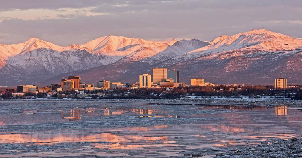 Alaska - The Anchorage Skyline
