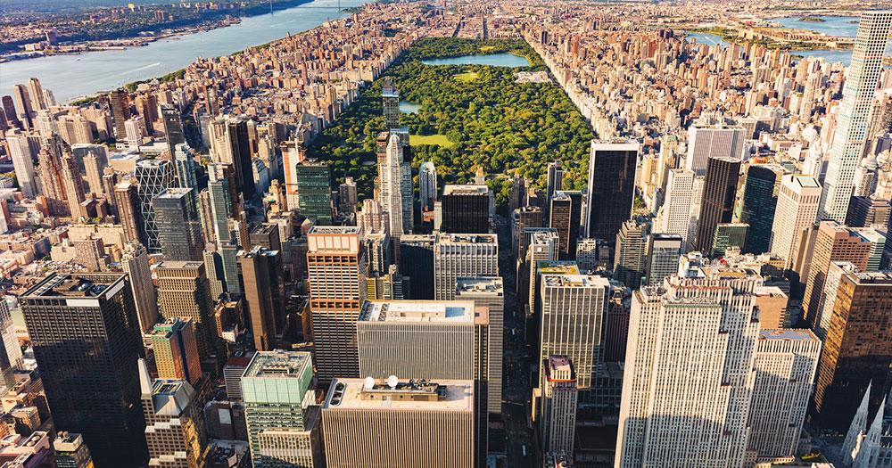 New York City - The Central Park in Manhattan