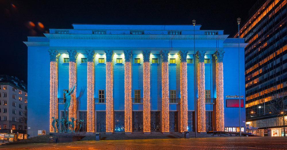 Stockholm - the concert hall of Stockholm
