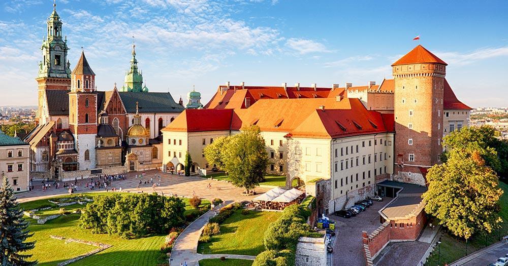 Cracow - Wawel Castle