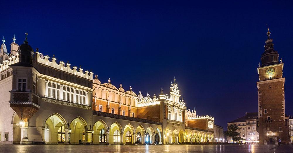 Krakow - The main square of Krakow