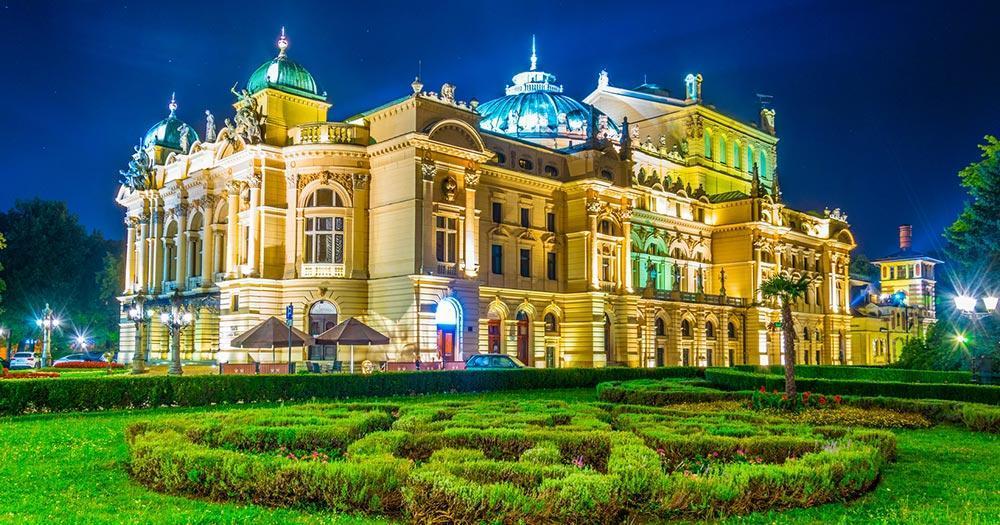 Krakau - Juliusz-Slowacki-Theater