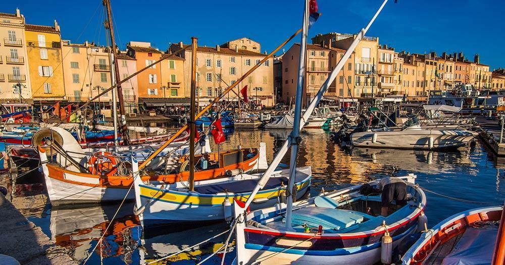 Saint Tropez - the picturesque port