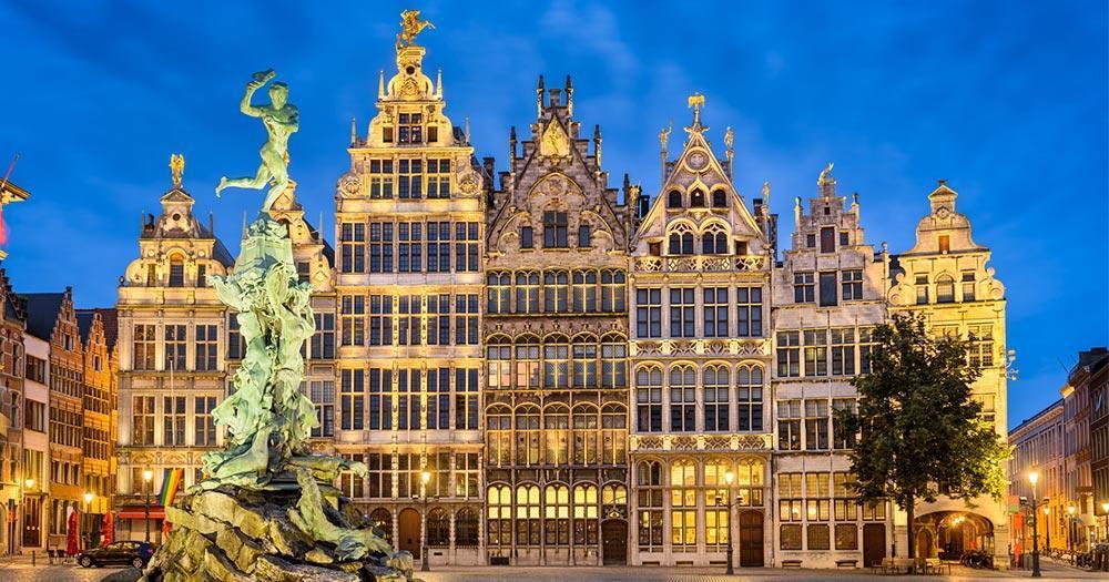 Antwerp - Grote Markt in Antwerp