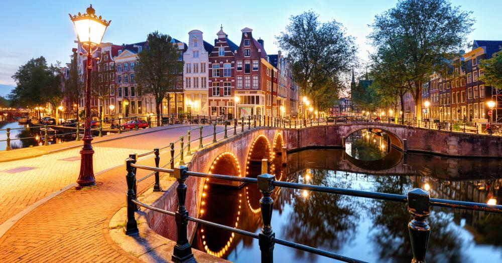 Amsterdam - View of the Keizersgracht