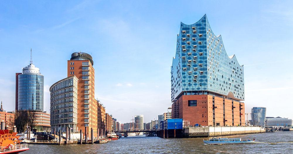 Hamburg - Elbphilharmonie on the Elbe