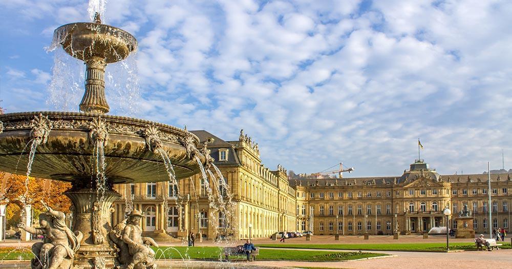 Stuttgart - Palace Square