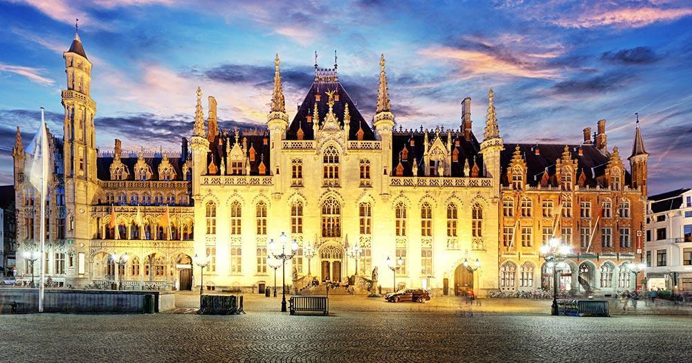 Bruges - Grote Marktplatz of Bruges
