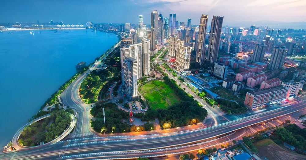 Shenzhen - City Skyline of Shenzhen