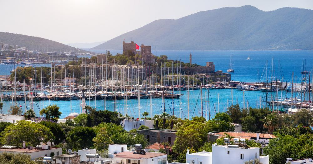 Bodrum - View of the city