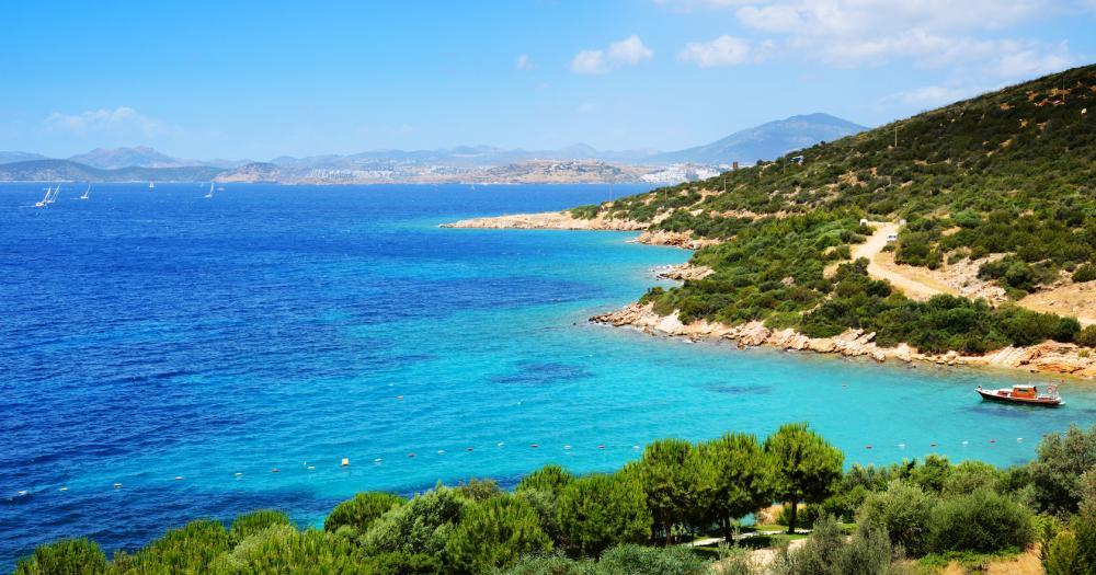Bodrum - View to the sea