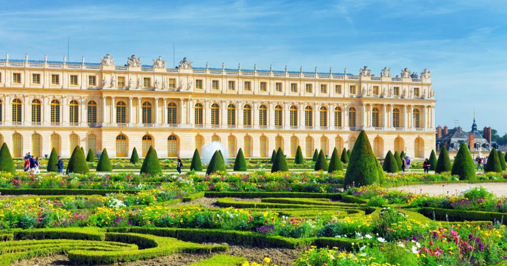 Paris - View of the Palace of Versailles