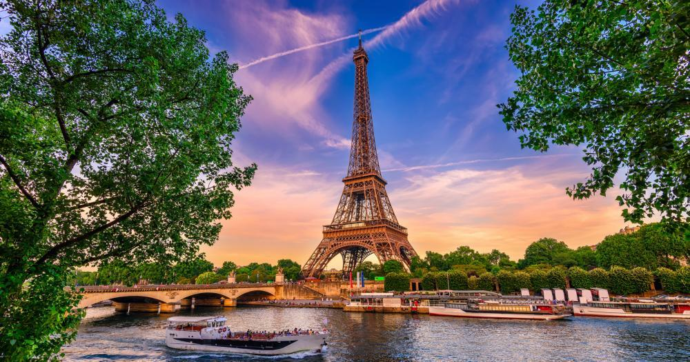 Paris - View of the Eiffel Tower