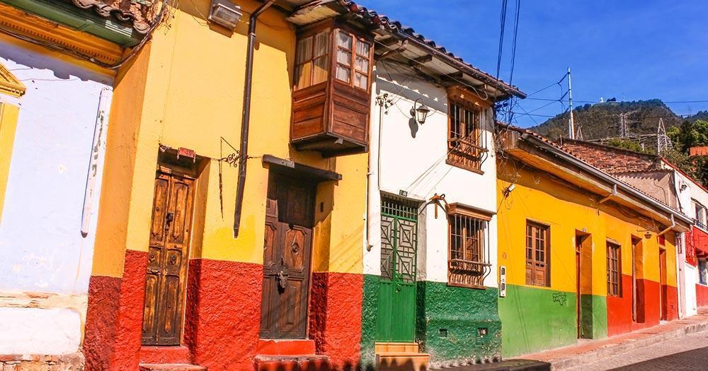 Bogotá - Colonial style houses