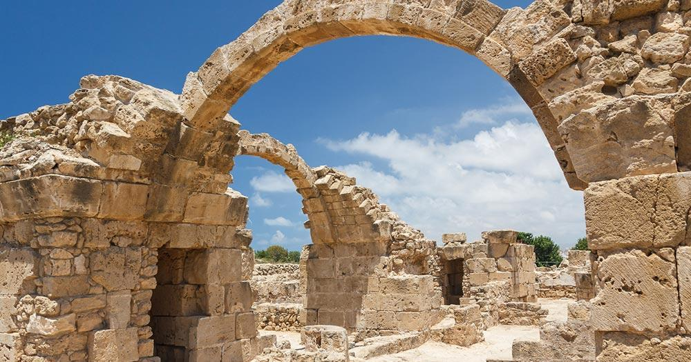 Saranda - Ruins of a byzantine castle