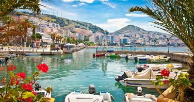 Saranda - Port on the Ionian Sea
