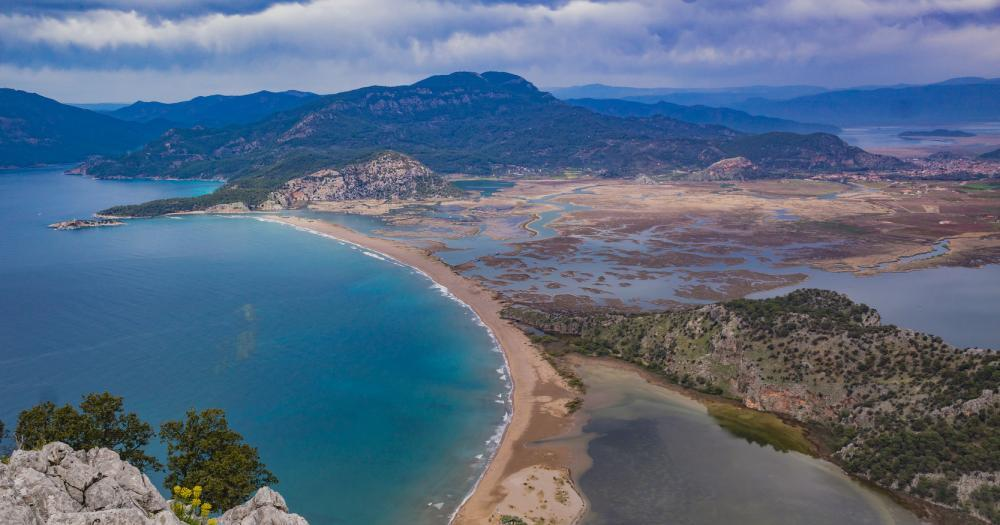 Dalyan - View to the sea