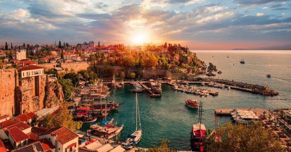 Antalya - View to the sea