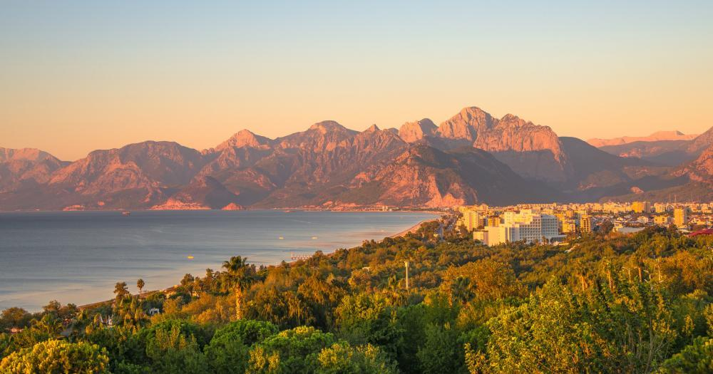 Antalya - View of the landscape