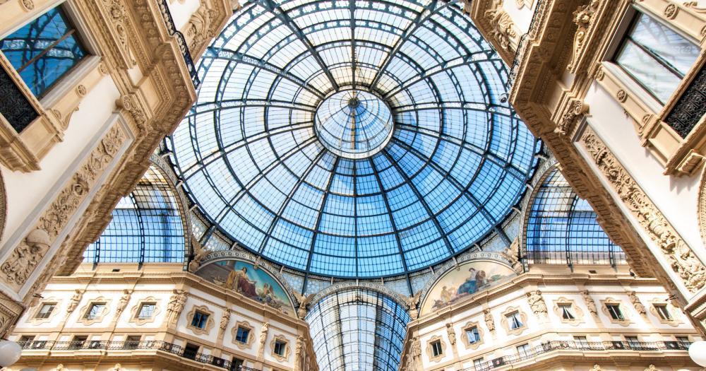 Milan - View Galleria Vittorio Emanuele