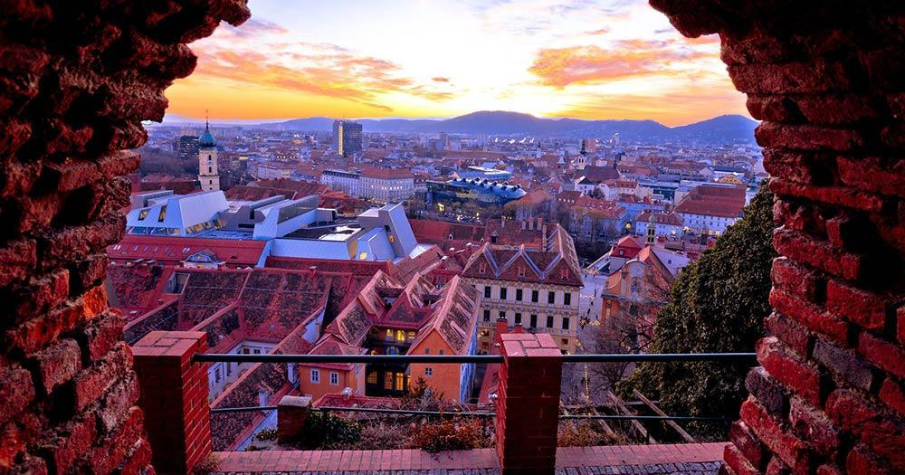 Graz - View of the old town