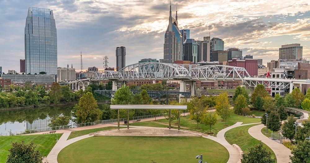 Nashville - parks by the river