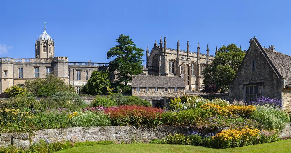 Oxford - Christ Church Memorial Garden