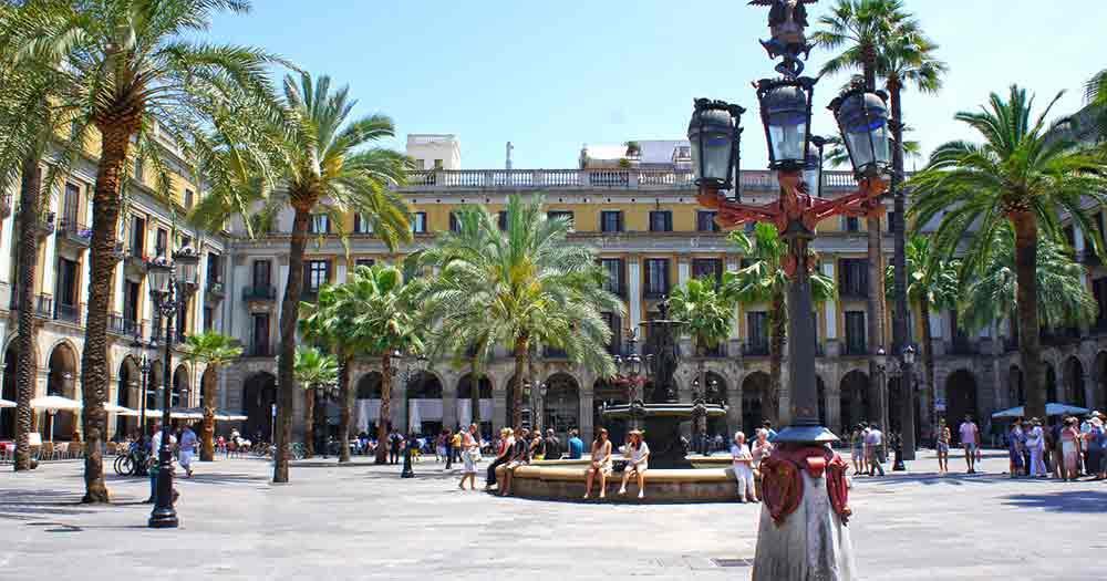 Barcelona - park view