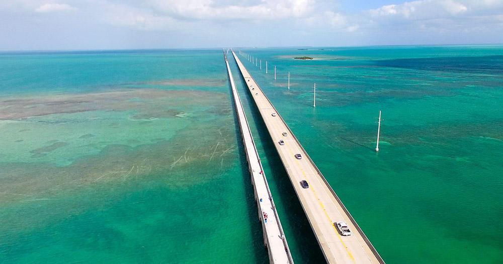 Key West - the bridge over the Keys