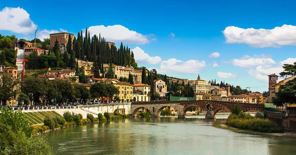 Verona - View of the city and river