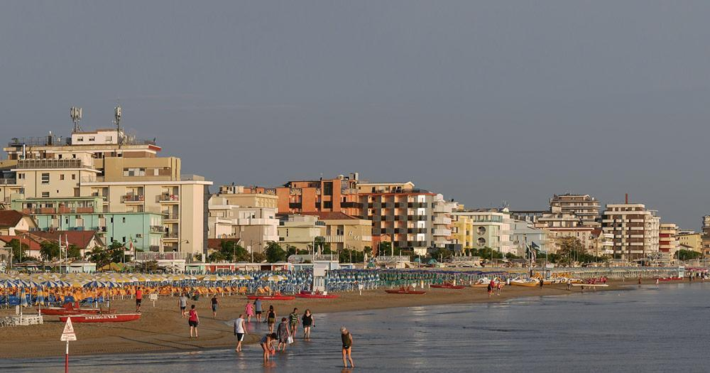 Rimini - Beach panorama