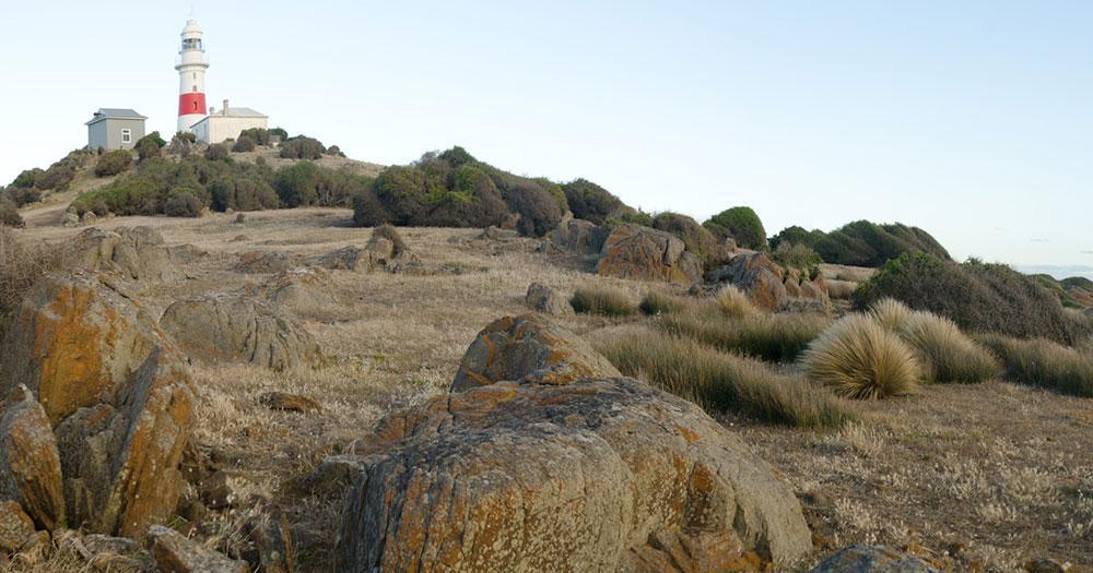 Tasmania - View of Low Head Lighthous