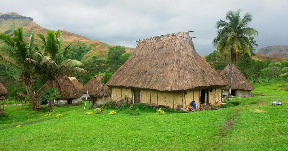Fiji Islands - Navala Village