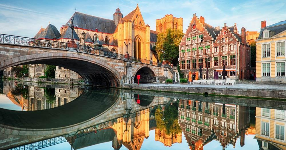 Ghent - medieval cathedral