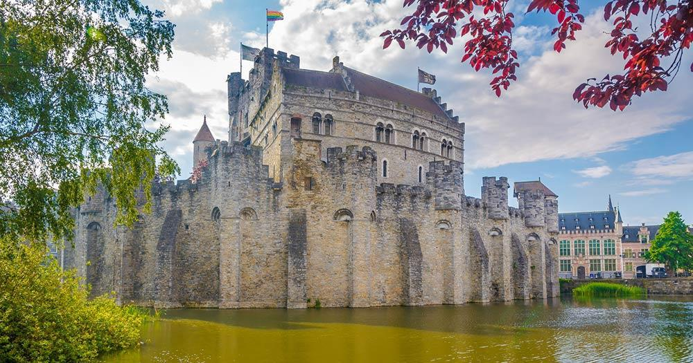 Ghent - Castle of the Counts Burg