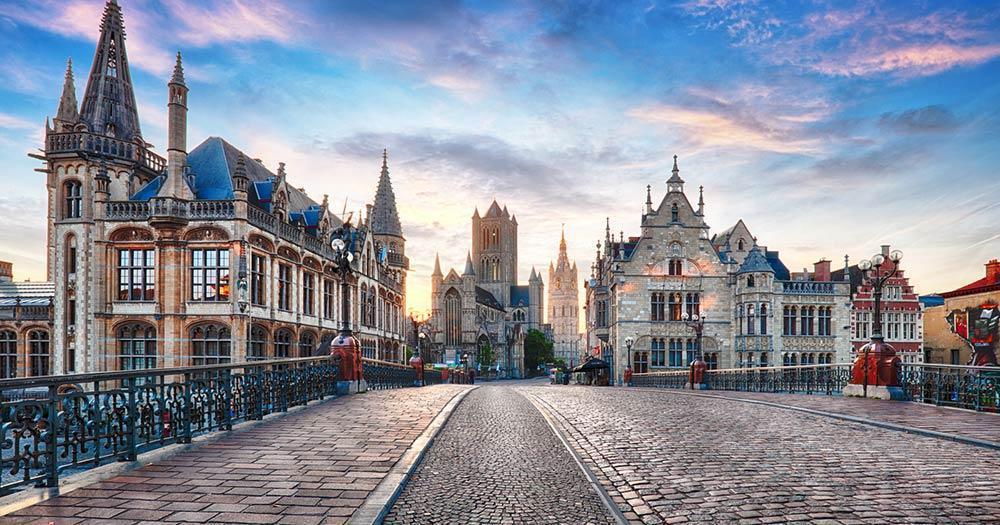 Ghent - At dawn