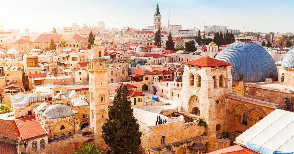Jerusalem - View of the Old City
