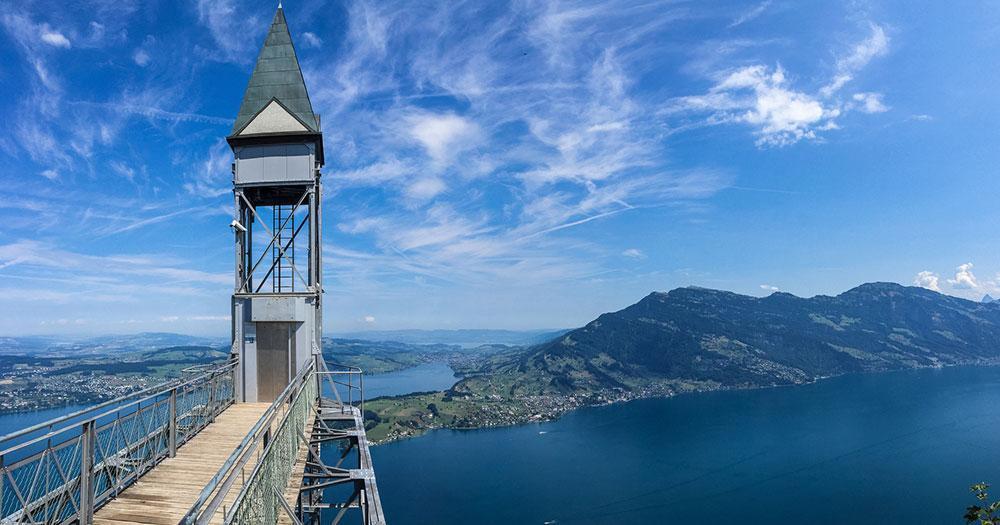 Lucerne - Hammetschwand Lift