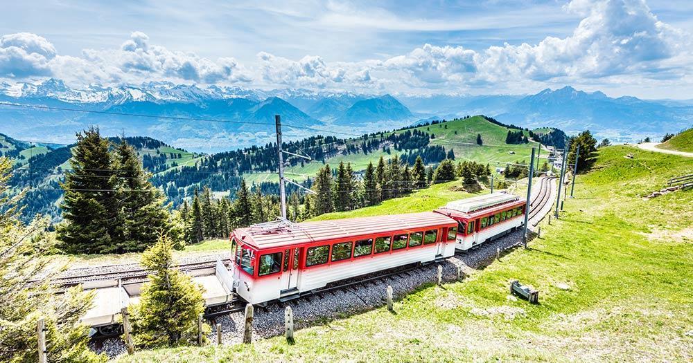 Lucerne - Rigi Railway, Lake Lucerne