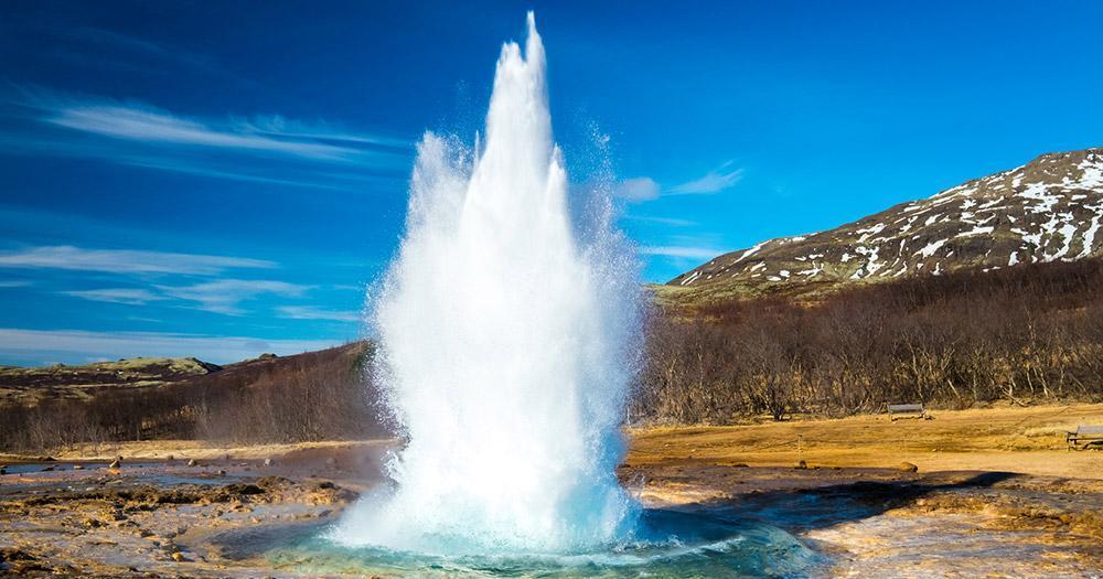 Iceland - The Strokkur Geyser