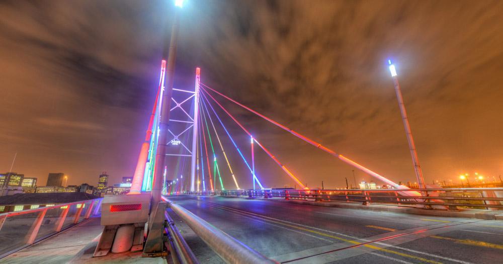 Johannesburg - Nelson Mandela Bridge
